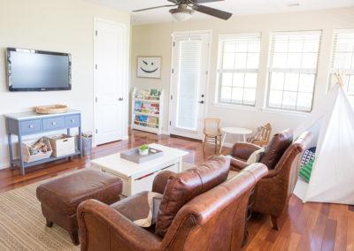 Prescott Arizona Interior Design - family room