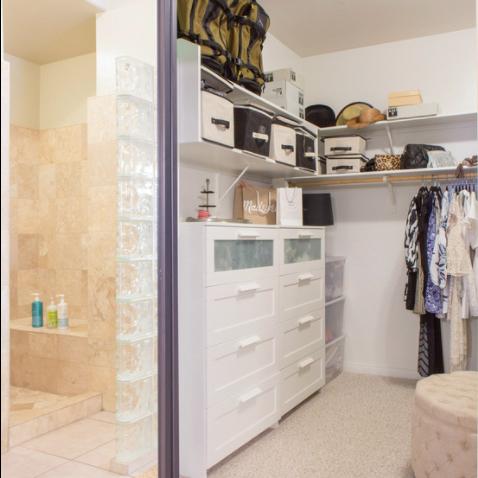 Andrea Wojciak Interior Design - Organized Closet